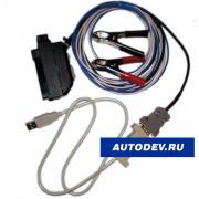 Кабель для программирования ЭБУ 81 контакт с адаптером USB-KKL