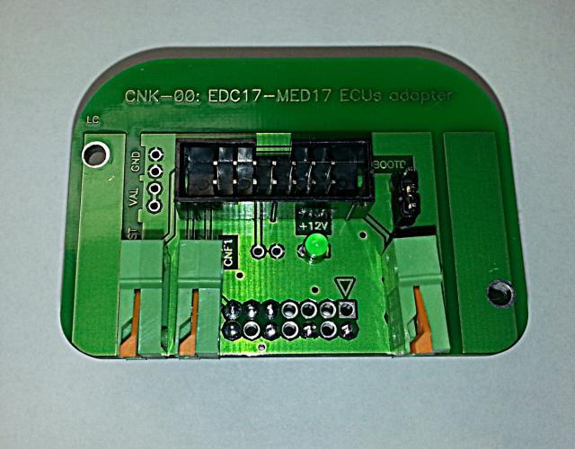 Адаптер K-TAG 14P600KT04 Infineon Tricore ECU Bosch EDC17/MED17