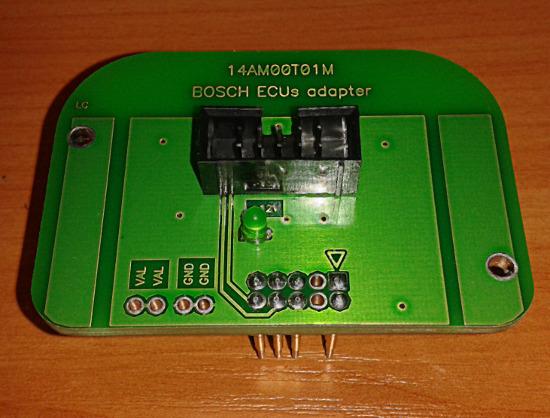 Адаптер K-TAG 14AM00T01M ECU Bosch