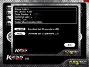 Обновление Kess V2 до 2.16 FW 4.036