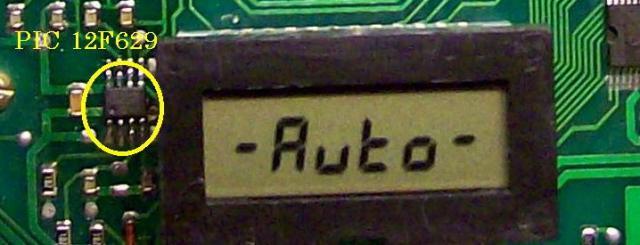Микросхема для восстановления комбинаций приборов АП 2110-3801010-04 (с узким дисплеем)